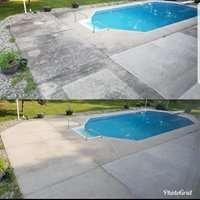 pool sidewalk
