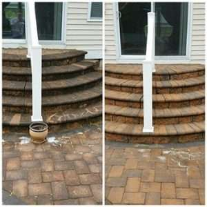 services concrete and paver cleaning