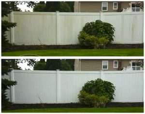 services fence cleaning